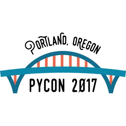Logo of PyCon, 17-25 May 2017, Portland, Oregon, USA